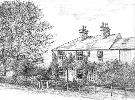 Manor Farm in Ridge Lane,near Sutton, Macclesfield